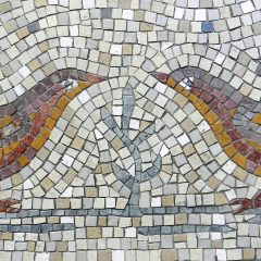 Love birds mosaic _ birds detail