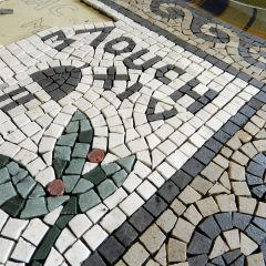 London wedding mosaic_work in progress.