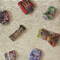 The Unswept Floor mosaic: ancient and modern