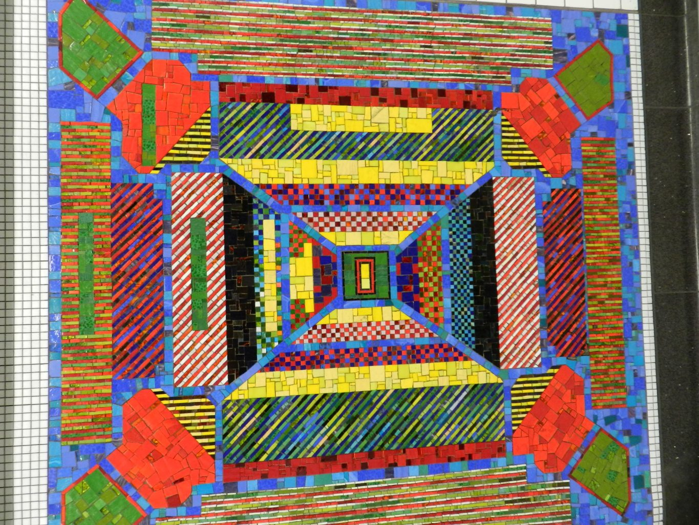 Paolozzi mosaics _ abstract.