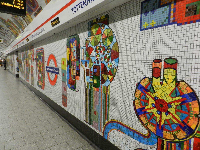Paolozzi mosaics_Central Line platform.