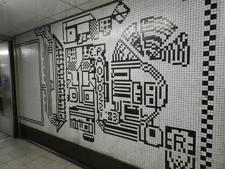 paolozzi mosaics _Northern Line