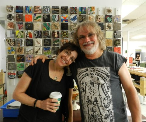 Five days at the Chicago Mosaic School with Gary Dostle