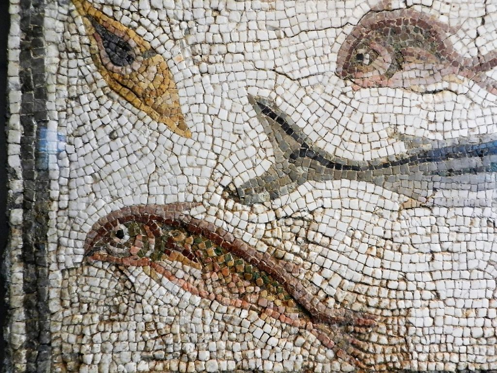 Art Institute of Chicago - fish mosaic detail
