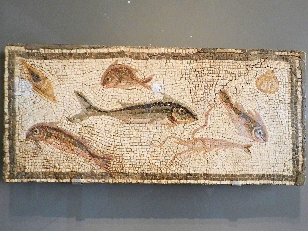 Art Institute of Chicago - 3rd century fish mosaic