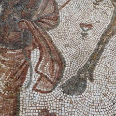 Art Institute of Chicago_ camel and camel driver mosaic_detail.