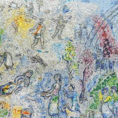 Marc Chagall's Four Seasons mosaic_ various