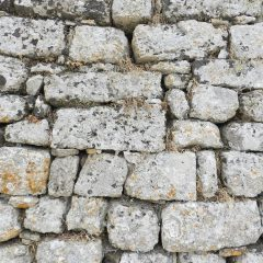 Another wall from Acrocorinth, Greece.