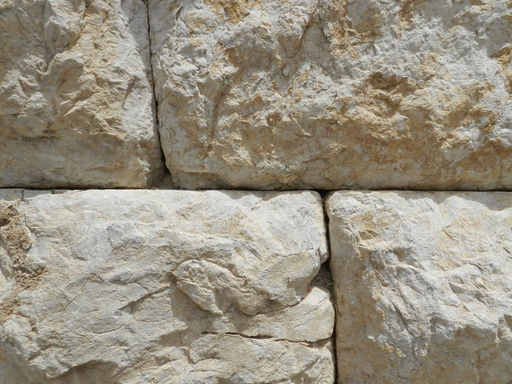 Acrocorinth outer wall, Greece. 4th century BC, detail