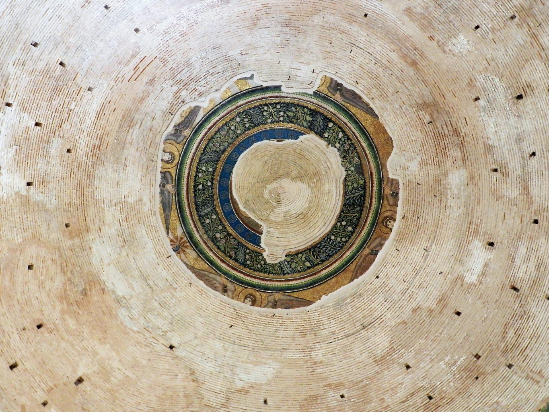 Rotunda mosaics_central dome, detail.