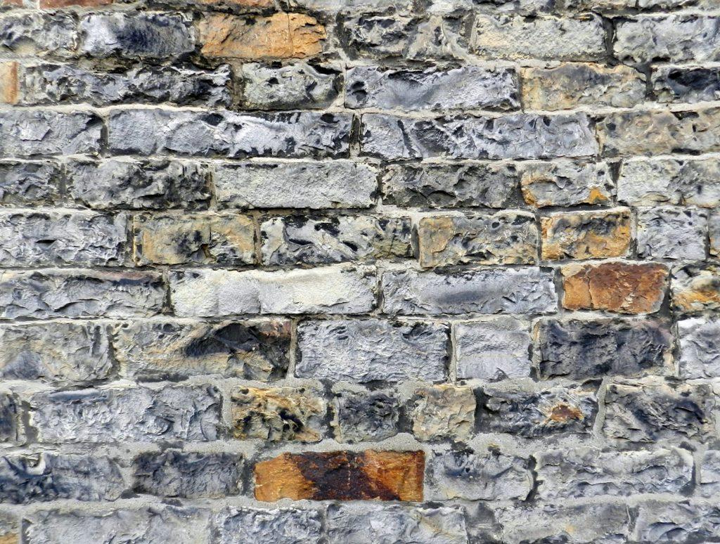 Edinburgh wall, Scotland.
