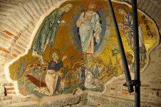 Byzantine mosaics of Daphni Monastery, near Athens.