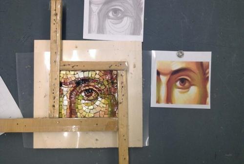 Mused Mosaik. Eye.