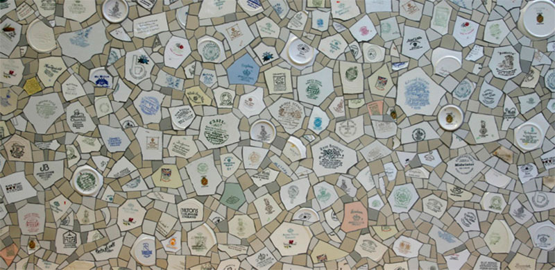 made in England mosaic