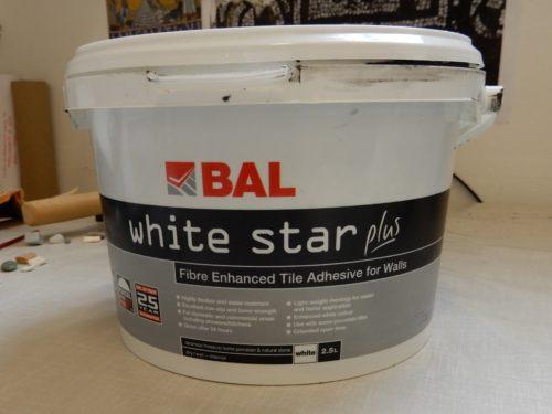 BAL White Star tile adhesive