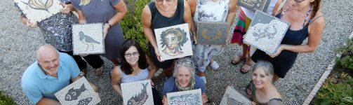 A six day mosaic course in Pelion, Greece