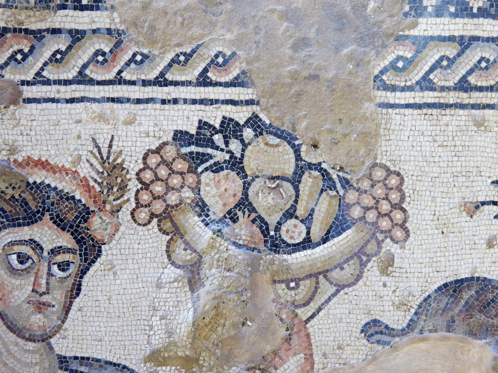 mosaic of cornucopia