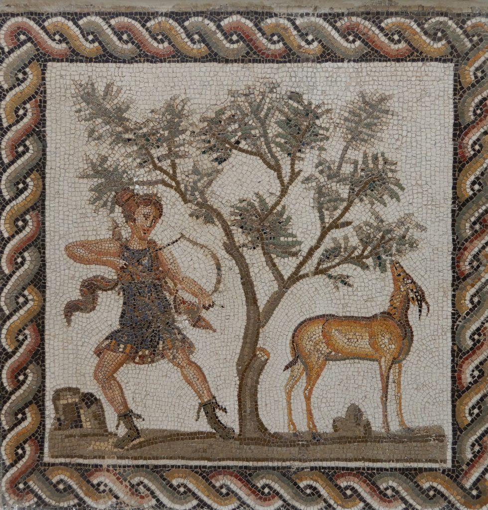 Diana hunting a deer