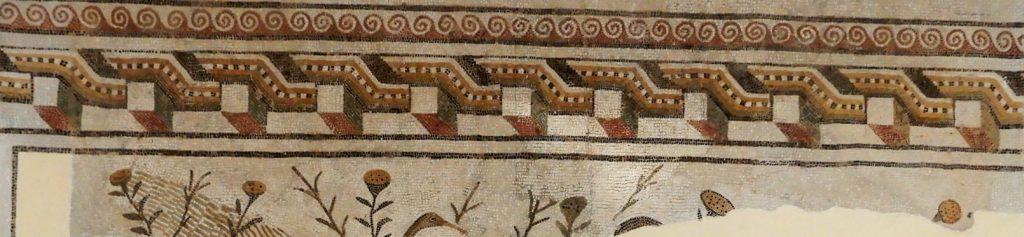 mosaic border detail