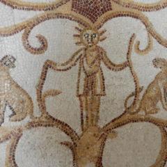 Mosaic patterns - border detail