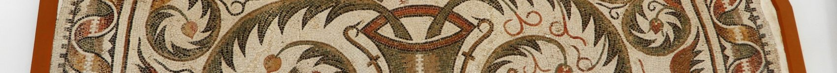 Mosaic patterns and the ancient mosaics of Tunisia.