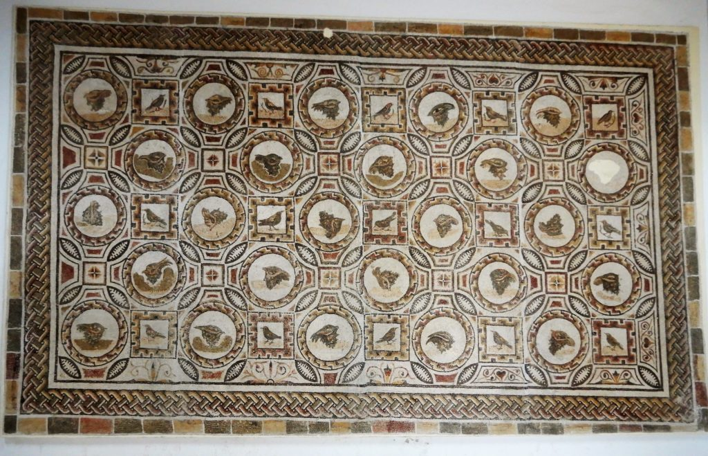 geometric mosaic