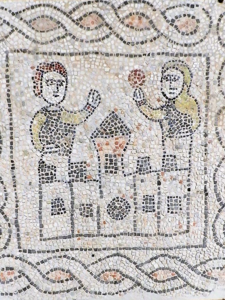 Fourth crusade mosaic. Mosaics of San Giovanni Evangelista, Ravenna