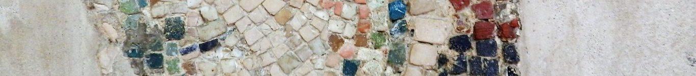 The curious mosaics of San Giovanni Evangelista, Ravenna.