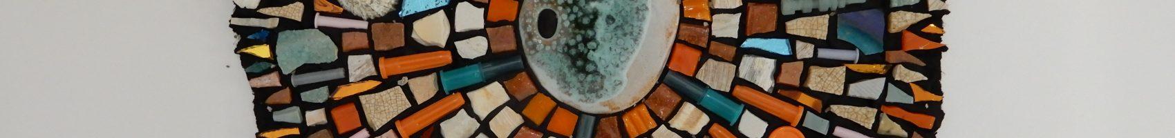 Make a mosaic abstract